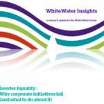 Gender Equality: Why corporate initiatives fail (and what to do about it)