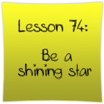 Be a shining star