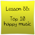 Top 10 happy music