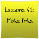 Make links
