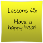 Have a happy heart