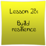 Build resilience