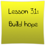 Build hope